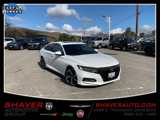 Pre-Owned 2019 Honda Accord Sport 2.0T