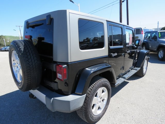 Pre-Owned 2008 Jeep Wrangler Unlimited Sahara