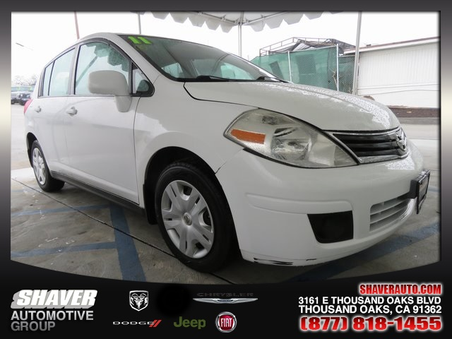 pre-owned 2011 nissan versa 1.8 s 4d hatchback in thousand oaks