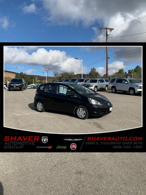 Honda Thousand Oaks >> Pre Owned 2013 Honda Fit Base Fwd 4d Hatchback