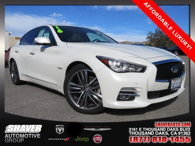 Pre Owned 2016 Infiniti Q50 Hybrid Base