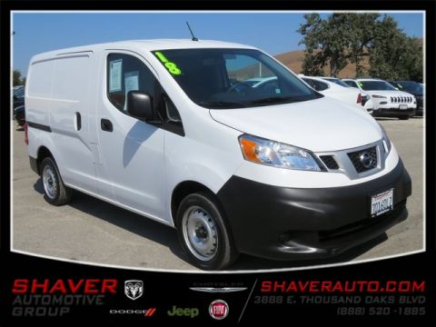 Pre-Owned 2018 Nissan NV200 S